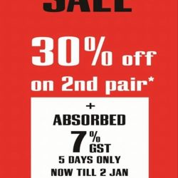 [C.E.D.S Sportswear] Last Call Guys!!! Shout Out for our Last Day promotion!! Today is our last day promotion absorbed 7% GST while
