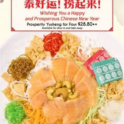 [SOM TAM] Get more prosperous this Chinese New Year with Som Tam Prosperity Yu Sheng! Lao your way to a huat huat
