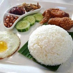 [Gain City] Enjoy our signature nasi lemak breakfast for just $3.50 at Happy Cafe, lvl 1 of the Gain City Megastore @