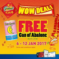 [UOB ATM] What's Chinese New Year feasting without having any abalones? Do your grocery shopping and receive a free can of
