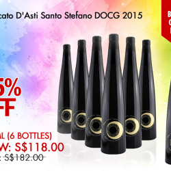 [The Oaks Cellars] SHOP NOW!Moscato D'Asti Santo Stefano DOCG 2015 (buy 6 get 1 free) 375mlhttp://bit.ly/2iz8oFe#theOaksCellars #