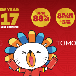[Lazada Singapore] Lazada's Chinese New Year Mega Sale starts tomorrow from 17 to 19 January! Don't miss out!