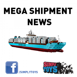 [Simply Toys] These items have arrived at our warehouse and ready for collection in stores from tomorrow (Wed 1st Feb). Customers who