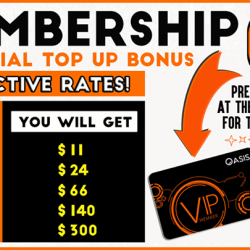 [OASIS Cafe] Sup! Our 2x top up bonus is back! Top up your membership card now to enjoy the double top up