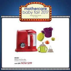 [Mothercare] Don't miss the chance to stock up on your feeding needs this Baby Fair @ HarbourFront Centre Lvl 3 from