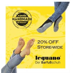 [leguano] We are offering this special 20% Discount until this Friday! Don't forget to get some new shoes before your