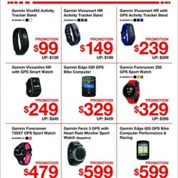 [CHALLENGER MINI] Here's some encouragement to getting fitter this new year - up to $200 off Garmin fitness accessories!Enjoy this promotion
