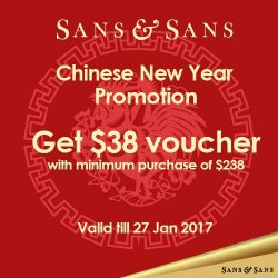 [Sans & Sans] Shop your CNY outfits at Sans & Sans and receive $38 voucher with min. purchase of $238. #sansandsans #CNY #comingsoon #17days