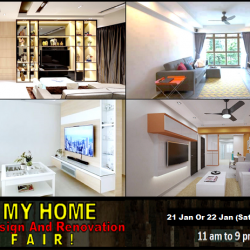 [3D INNOVATIONS DESIGN PTE LTD] Good News For People Staying in the Central, EAST And West! I LOVE MY HOME DESIGN AND RENOVATION FAIR with