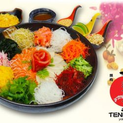 [Tenkaichi] Hello Tenkaichi FB fans!!! **FREE SASHIMI YU SHENG this CHINESE NEW YEAR!!!!! What a good year to start! (Restaurant open