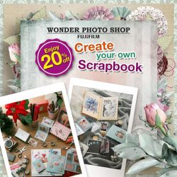 [Harvey Norman] Kick start your 2017 scrapbook with 20% off all Wonder Photo Shop Accessories. Now till 17 Jan 2017. Visit our