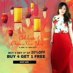 [LOVFLAUNT] From now till 31 January 2016, shop with us at LOVFLAUNT and get rewarded!Purchase any 2 items and get