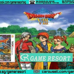 [GAME RESORT] 3DS Dragon Quest VIII Journey Of The Cursed King,Uncover the story of the Cursed King as you save the