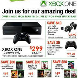 [GameMartz] Good News! XBox One 1TB Console PROMOTION EXTENDED!  Due to overwhelming response, we have decided to EXTEND our promotion till