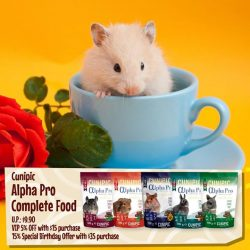 [Pet Lovers Centre Singapore] CUNIPIC ALPHA PRO COMPLETE FOOD [U.P. $9.90]  is having a GREAT deal with 5% off for VIPs with