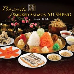 [Din Tai Fung] LOHEI your way into a year of abundance, prosperity and vigor with our Smoked Salmon Yu Sheng (Standard 2-3