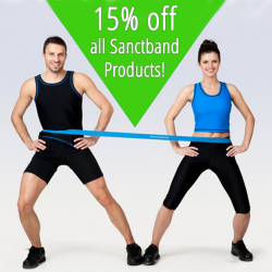 [Core Concepts - Physiotherapy Centre] Shake up your workout! In the month of January, enjoy 15% off all Sanctband products exclusively at our clinics!