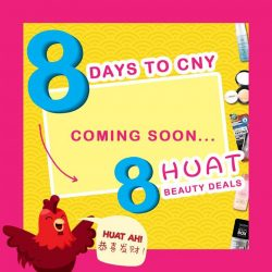 [Sasa Singapore] Huat ah! We are only 8 days away from the Rooster year and to get you all ready, Sasa is