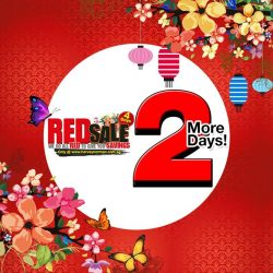 [Harvey Norman] 2 More Days to the highly anticipated Harvey Norman's RED SALE happening from 13th - 16th Jan 2017! Check out