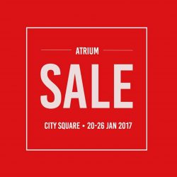 [IORA] Haven't gotten enough apparels for CNY? Head down to our atrium sales now. #iorasg #sales #cny