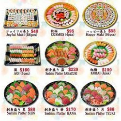 [Fish Mart Sakuraya] Hurray, is TGIF !!! CNY Party continues :) Have a hassle free party with our Sushi Sashimi Platter. We provide FREE delivery