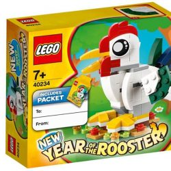 [The Brick Shop] FREE* LEGO® limited edition Rooster set (40234) when you spent $88 nett in a single receipt from 1st January 2017.