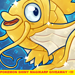 [Funco Gamez] Pokemon Shiny Magikarp giveaway ~!!!*1 Code per customer with any purchase* *1 Code per Funco Gamez member (No purchase required)* **