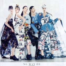 [LaPrendo] The Harper's Bazaar Asia NewGen Fashion Award winning collections as seen in Harper's BAZAAR, Singapore. Mad love!Shop