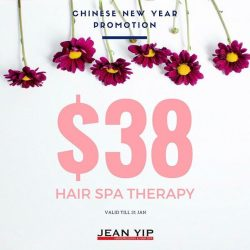 [Enjoy by Jean Yip] It's never too late to introduce scalp care treatment into our beauty routine. For $38, enjoy one session of