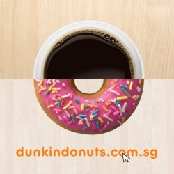 [Dunkin' Donuts Singapore] Welcome to a space dedicated to the deliciousness of Dunkin'.Check out our flavors and latest combo deals at www.