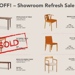[Grafunkt] Showroom Refresh Sale @ CONDE HOUSE! 30% Off!