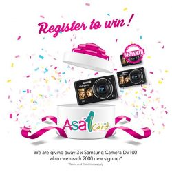 [ASA Holidays] 2 more camera up for grab! All you have to do is register as a member & you could be walking