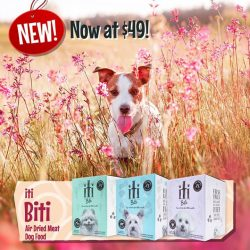 [Pet Lovers Centre Singapore] iTi Biti dog dry food is now in stock!! Look forward to little pieces of BIG nutrition - courtesy of New