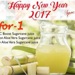 [CocoCane] Start your new year with our 1-for-1 specials! 3 of our Energising booster drinks are on 1-for-