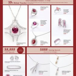 [Isetan] Exquisite Red Jewellery Collection is back at Isetan Scotts with a brand new collection for this Lunar New Year.Exclusively