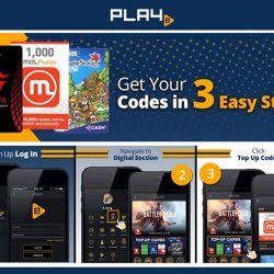 [PLAYe] Top up credits for your favourite online games in 3 easy steps. The PLAYe app has credits from MOL, Garena,