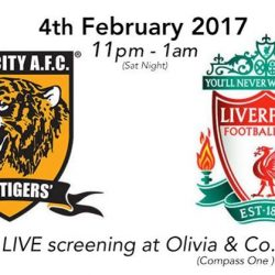 [Olivia & Co] EPL NIGHTS AT OLIVIA COMPASS ONE Calling all Liverpool fans! This Saturday, 11pm, come join us at Compass One! Tag
