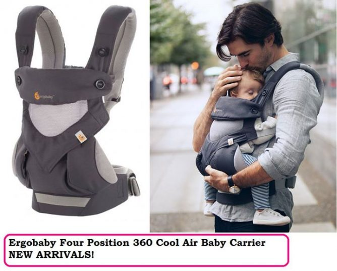 Nichebabies Perfect For Singapore Hot Hot Weather Ergobaby Four