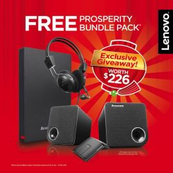 [Newstead Technologies] Purchase selected Lenovo devices at Marina Square #02-275 from now till 15 January and you'll receive FREE Prosperity
