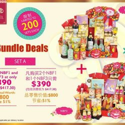 [Blossoms Cellar] Bundle Deal not to be missed! With so much to choose from, why not make your money worth? Now, you