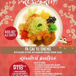 [SEASONAL SALAD BAR] Introducing Seasonal Salad Bar's very own rendition of the Yu Sheng! Toss to prosperity with your friends and family