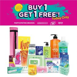[Watsons Singapore] To our fans and friends, the long-awaited Watsons Own Brand Day is back! For 1 DAY ONLY, BUY 1