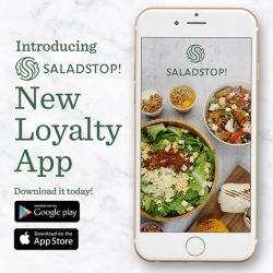 [Salad Stop] Introducing our very own Loyalty App! Get healthy, collect stamps, earn exciting rewards and much more! #saladstop #eatwideawakeapp