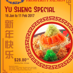 [Ma Maison Restaurant Singapore] Hello Ma Maison fan!!!We will offer Yu Sheng Special with Salmon at our outlet at Anchorpoint! Take away welcome!