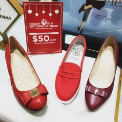 [Cole Haan] Red Hot Chinese New Year promotion : Enjoy $50 off $250 min spend, valid till 5th Feb! #Huatah