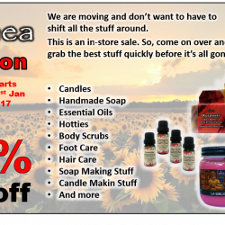 [Shea] Shea is Moving, and we are having an incredible sale!