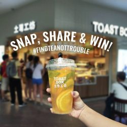 [Toast Box Singapore] It's time to par-tea with our New Teas! Grab your friends and swing by Bugis Junction to try