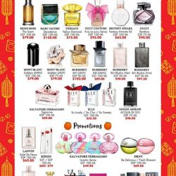 [NICE Cosmetics] Chinese New Year BRANDED FRAGRANCES Special Promotions upto 70% offFRAGRANCE BRANDS ; GUCCI, DAVIDOFF, SALVATORE FERRAGAMO, BVLGARI, HUGO BOSS,JIMMY