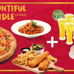 [Pizza Hut Singapore] Chirp with delight when you and your friends get to enjoy 4 sets of Sjora Drink & Soup worth $20, absolutely