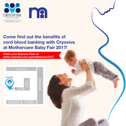 [Mothercare] Because Cryoviva understands that it is doubly tiring for pregnant ladies to stand in queue, they are offering Express Passes